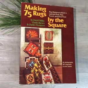 Vintage 1978 Making 75 Rugs By The Square Book